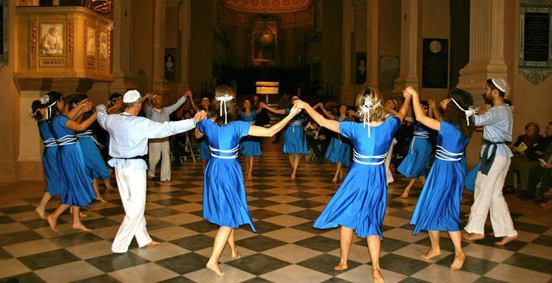 sfondo balli ebraici